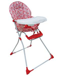 Baby Highchair - Bunny and Chicken