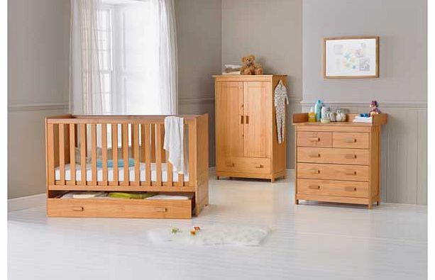 Delfina 3 Piece Nursery Set - Pine