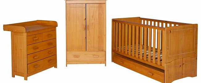 Delfina 5 Piece Nursery Set - Pine
