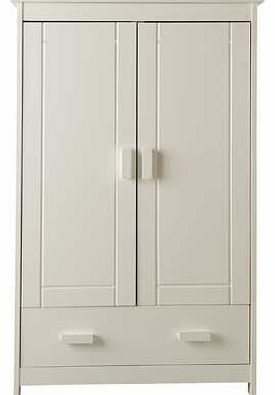 Delfina Nursery Wardrobe - White