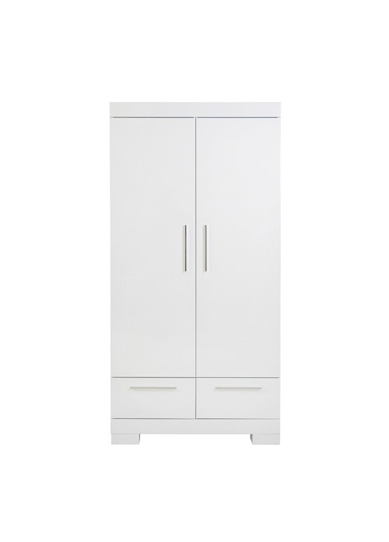 Aspen Wardrobe 2 Doors-White