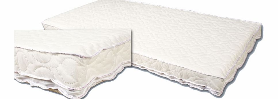 Babywise Spring Interior Cot Bed Mattress 140 x