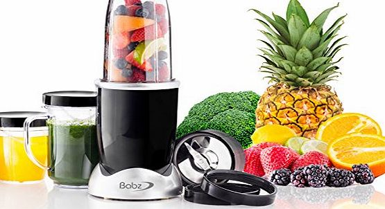 Babz MULTI BLENDER FOOD PROCESSOR JUICER SMOOTHIE MAKER KITCHEN MIXER CHOPPER
