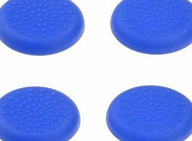 Babz Tech 4 X ANALOGUE STICK THUMB GRIPS BLUE FOR PS4 CONTROLLER