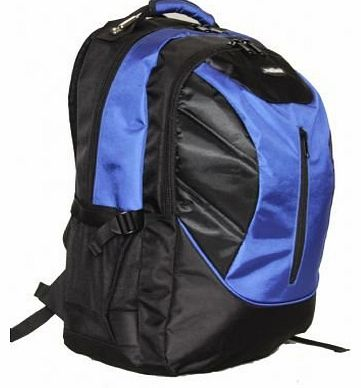 Outback 17 Inch Laptop Backpack Cabin Onboard Luggage 8 MIX PIECES PER BOX UNIT black/blu/red/orange