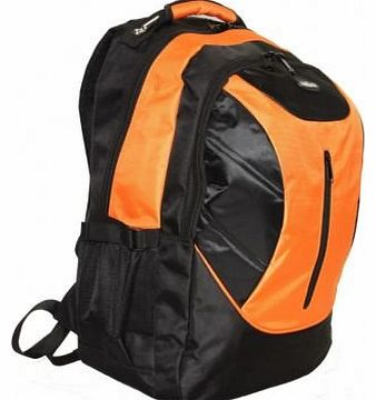 Outback 19 Inch Laptop Backpack College School Rucksack 8 ORANGE PIECES PER BOX UNIT ORANGE