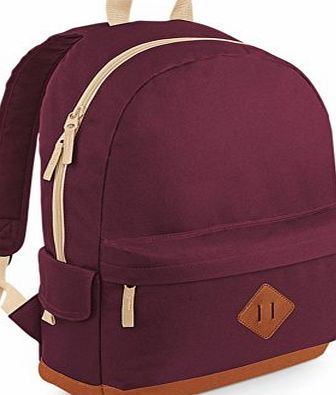 Heritage Backpack One Size Burgundy