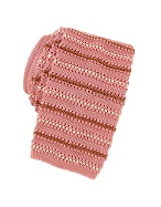 Limited Production Pink Sox Woven Silk Tie