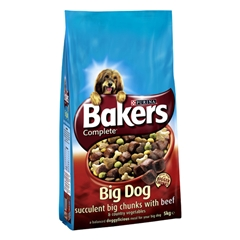 Big Dog Large Breed Adult Complete Dog Food with Beef