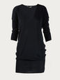 DRESSES BLACK 38 FR BAL-T-194101