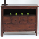 Mahogany 5 drawer sideboard furniture