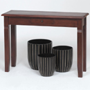 Mahogany console table furniture