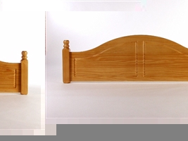 4ft6 (Double) Headboard
