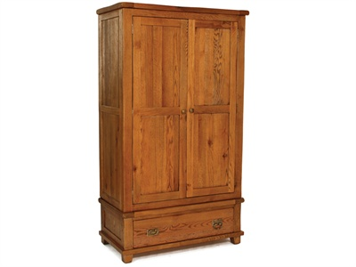 Rustic Wardrobe Small Single (2 6`)