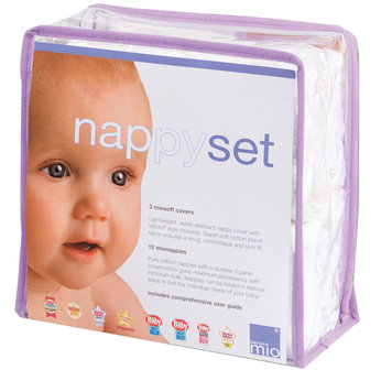 Cotton Nappy Set - Large
