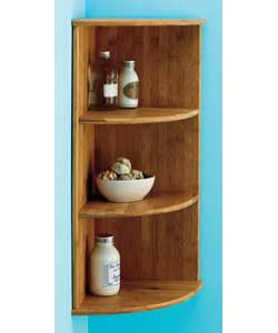Wall Mounted Corner Shelf