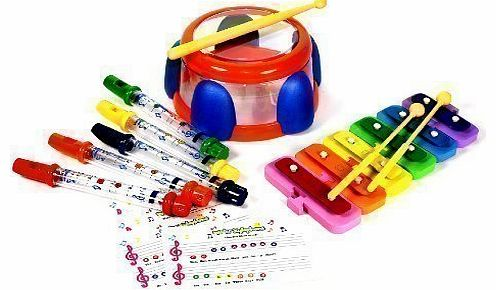TUB WATER FLUTE DRUM XYLOPHONE MUSICAL TOY TODDLER INFANT PLAYSET