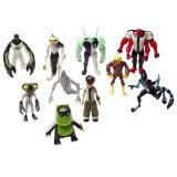 Ben 10 10cm Alien Collection - 10 Figure Hero Set