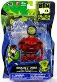 Ben 10 Alien Force 10cm Brain Storm Figure