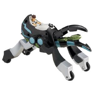 BEN 10 XLR8 Transformation Alien Cruiser