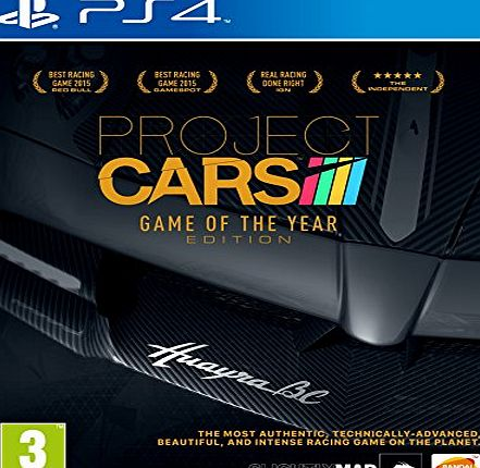 Bandai Namco Entertainment Project CARS - Game of the Year Edition (PS4)