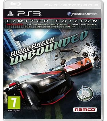 Ridge Racer Unbounded on PS3