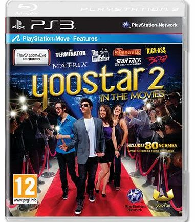 Yoostar 2 In The Movies on PS3