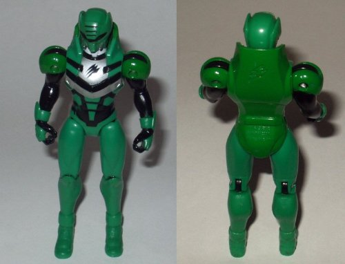 Power Rangers Jungle Fury 6`` Green Elephant Ranger Action Figure