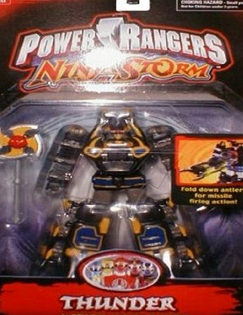 Bandai Power Rangers Ninja Storm Thunder Action Megazord