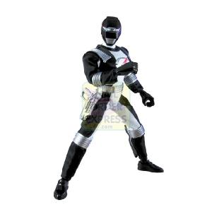 Power Rangers Operation Overdrive 30cm Mega Talking Black Figure