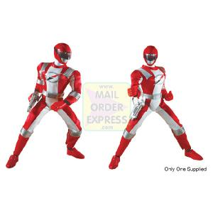Power Rangers Operation Overdrive 30cm Mega Talking Red Figure