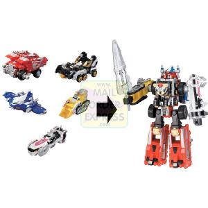 Power Rangers Operation Overdrive Deluxe Drivemax Megazord