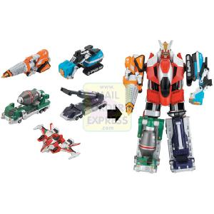 Power Rangers Operation Overdrive Deluxe Dualdrive Megazord