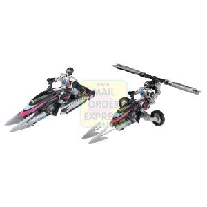 Power Rangers Operation Overdrive Hovertek Cycle Black