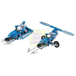 Power Rangers Operation Overdrive Hovertek Cycle Blue