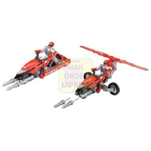 Power Rangers Operation Overdrive Hovertek Cycle Red