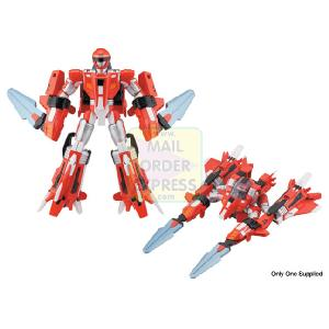 Power Rangers Operation Overdrive Mach Morph 12 5cm Red