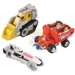 Power Rangers Operation Overdrive Transmax Mini Vehicle Set A