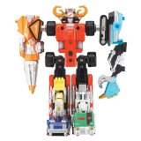 POWER RANGERS OPERATION OVERDRIVE TRANSMAX VEHICLES.SET C