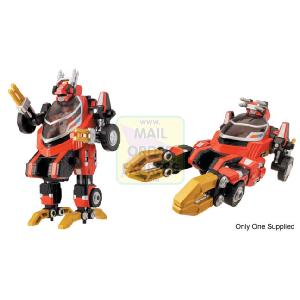 Power Rangers Operation Overdrive Transtek Armour Machine Red