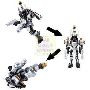 Power Rangers Operation Overdrive Turbo Drill 12 5cm Black