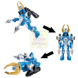 Power Rangers Operation Overdrive Turbo Drill 12 5cm Blue