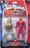 Power rangers S.P.D. - 12.5cm Pink Space Alien - The Packet is in poor condition
