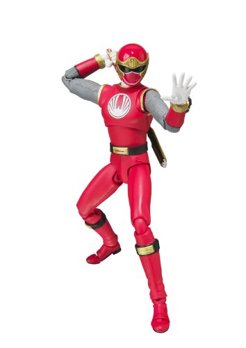 Tamashii Nations S.H. Figuarts ``Power Rangers Ninja Storm`` Red Wind Ranger Action Figure