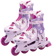 Groovy Chick In-Line Skates (Size 2-4)