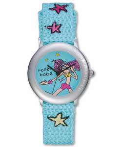on the Door Rollerbabe Fabric Strap Quartz Watch
