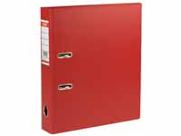 145009 A4 70mm red PVC lever arch file,