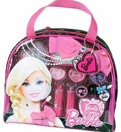 ! DOLL-ICIOUS FASHION TOTE! COSMETIC TRAVEL BAG! PERFECT LITTLE GIRL MAKEUP XMAS GIFT SET!!