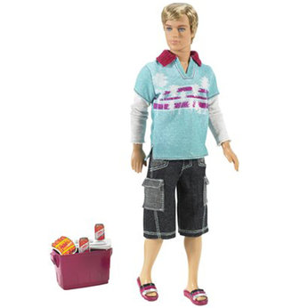Camping Family - Ken Doll