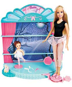 Careers Dolls Playset - I Can Be A Ballet Dancer